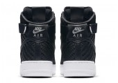 Кроссовки Nike Air Force 1 High LV8 Woven Black/White - Фото 6