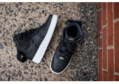 Кроссовки Nike Air Force 1 High LV8 Woven Black/White - Фото 3