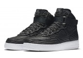 Кроссовки Nike Air Force 1 High LV8 Woven Black/White - Фото 7