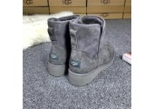 UGG Abree Mini Grey - Фото 3