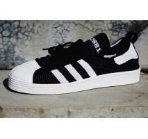 Кроссовки Adidas Superstar 80s Primeknit Black/White