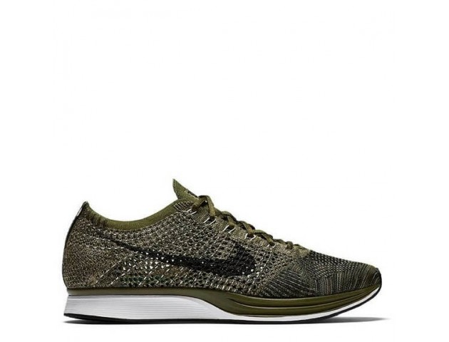 Кроссовки Nike Flyknit Racer Rough Green