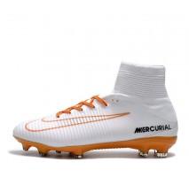 Футбольные бутсы Nike Mercurial Superfly V FG White/Chocolat