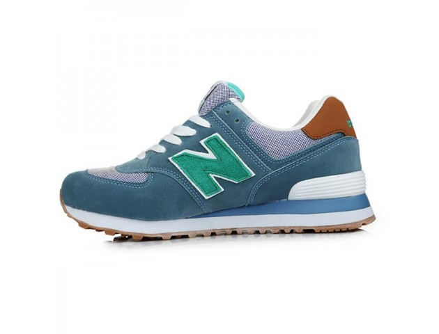 Кроссовки New Balance Buty 574 Beach Cruiser Pack Blue/Green