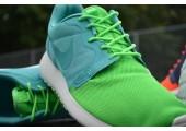 Кроссовки Nike Roshe Run Hyperfuse QS Green - Фото 3