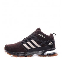 Кроссовки Adidas Neo Winter Chocolate С МЕХОМ