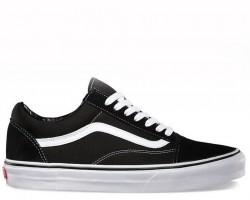 Кеды Vans Old Skool Black Go White