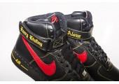 Кроссовки Nike Air Force 1 High Black/Red/Yellow - Фото 6