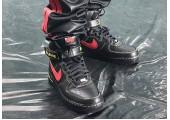Кроссовки Nike Air Force 1 High Black/Red/Yellow - Фото 3