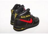 Кроссовки Nike Air Force 1 High Black/Red/Yellow - Фото 7