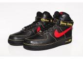 Кроссовки Nike Air Force 1 High Black/Red/Yellow - Фото 5
