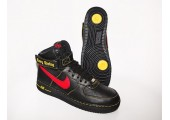 Кроссовки Nike Air Force 1 High Black/Red/Yellow - Фото 8