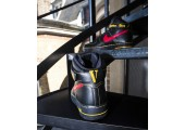 Кроссовки Nike Air Force 1 High Black/Red/Yellow - Фото 4