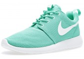 Кроссовки Nike Roshe Run Mint - Фото 3