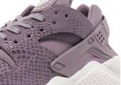 Кроссовки Nike Air Huarache Purple Smoke - Фото 3