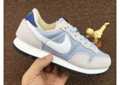 Кроссовки Nike Internationalist Light Blue/White С МЕХОМ - Фото 1