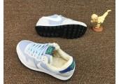 Кроссовки Nike Internationalist Light Blue/White С МЕХОМ - Фото 2
