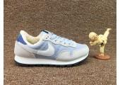 Кроссовки Nike Internationalist Light Blue/White С МЕХОМ - Фото 5