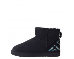 UGG Classic Mini Black - Blue Ornament