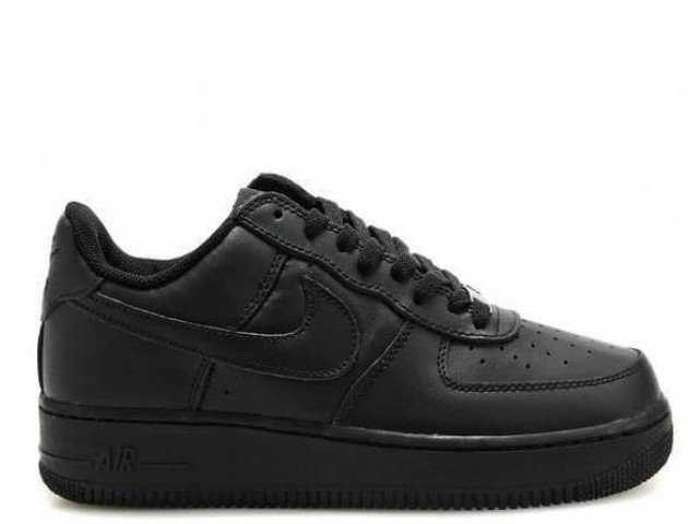 Детские кроссовки Nike Air Force 1 Low Black