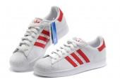 Кроссовки Adidas Superstar II White/Red - Фото 4
