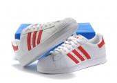 Кроссовки Adidas Superstar II White/Red - Фото 6