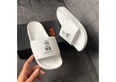 Шлепанцы Adidas x Y-3 All White - Фото 6
