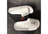 Шлепанцы Adidas x Y-3 All White - Фото 5