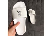 Шлепанцы Adidas x Y-3 All White - Фото 1