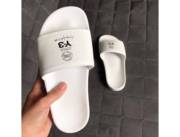 Шлепанцы Adidas x Y-3 All White