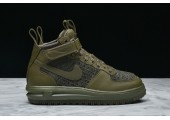 Кроссовки Nike Lunar Force 1 Flyknit Workboot Medium Olive - Фото 6