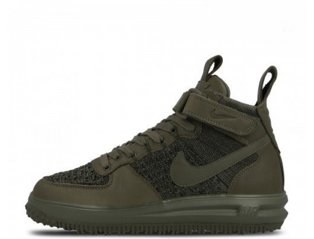 Кроссовки Nike Lunar Force 1 Flyknit Workboot Medium Olive
