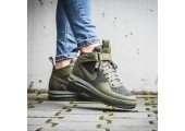 Кроссовки Nike Lunar Force 1 Flyknit Workboot Medium Olive - Фото 2
