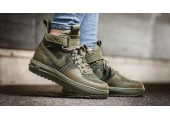 Кроссовки Nike Lunar Force 1 Flyknit Workboot Medium Olive - Фото 3