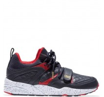 Кроссовки Kith x Puma Blaze of Glory Black/Red