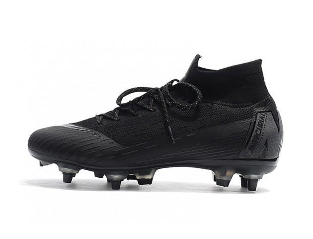 Футбольные бутсы Nike Mercurial Superfly VI Elite SG AC Black