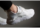 Кроссовки Nike Air Huarache Run Ultra Perfect White - Фото 2