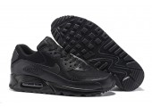 Кроссовки Nike Air Max 90 Premium Triple Black - Фото 6