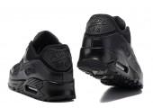 Кроссовки Nike Air Max 90 Premium Triple Black - Фото 2