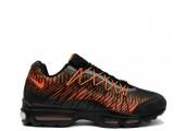 Кроссовки Nike Air Max 95 Ultra Jacquard Black/Orange - Фото 1