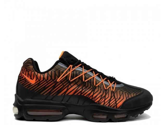 Кроссовки Nike Air Max 95 Ultra Jacquard Black/Orange