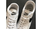 Кроссовки Nike Blazer Low Leather White/Black - Фото 8