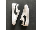 Кроссовки Nike Blazer Low Leather White/Black - Фото 1