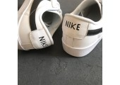 Кроссовки Nike Blazer Low Leather White/Black - Фото 9