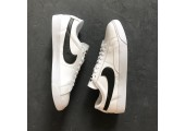 Кроссовки Nike Blazer Low Leather White/Black - Фото 5