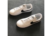 Кроссовки Nike Blazer Low Leather White/Black - Фото 7