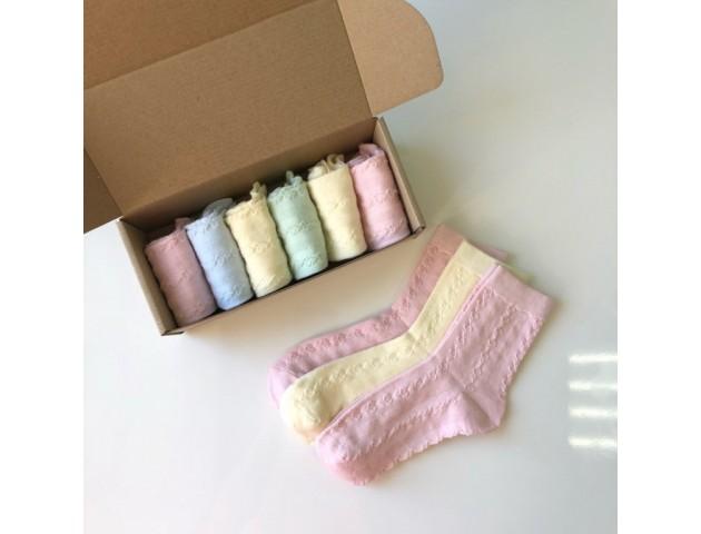 Набор детских носочков Цветочек № 31