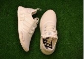 Кроссовки Adidas NMD Runner R1 Triple White - Фото 5