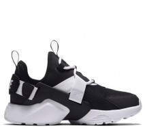 Кроссовки Nike Air Huarache City Low Black/White/Black