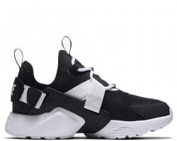 Кроссовки Nike Air Huarache City Low Black/White/Black